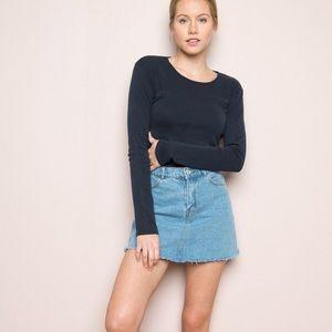 Brandy Melville Denim Skirt NWOT